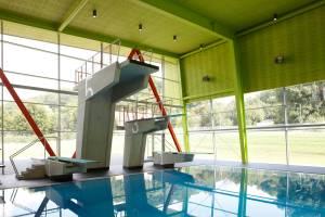Закрытый спортивный бассейн в г. Биберах/Германия