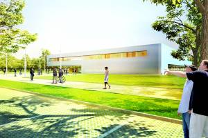 Замена главного бассейна «Thurmfeld» в Эссене/Германия
