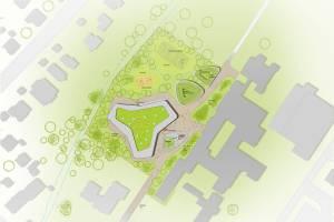 Тендер на строительство столовой в единой школе в г. Гревен/Германия