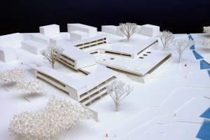 Сооружение школьного центра в Бельвале/Люксембург
