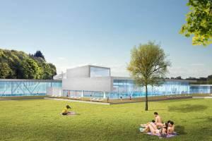 Wettbewerb Schwaketenbad in Konstanz/DE