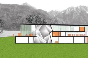 Wettbewerb Sportzone Olang in Südtirol/I