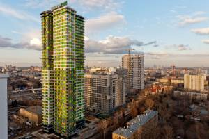 Residential high-rise building Villange in Moscow/RUS