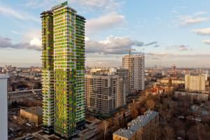 Высотный жилой дом в Москве/Россия